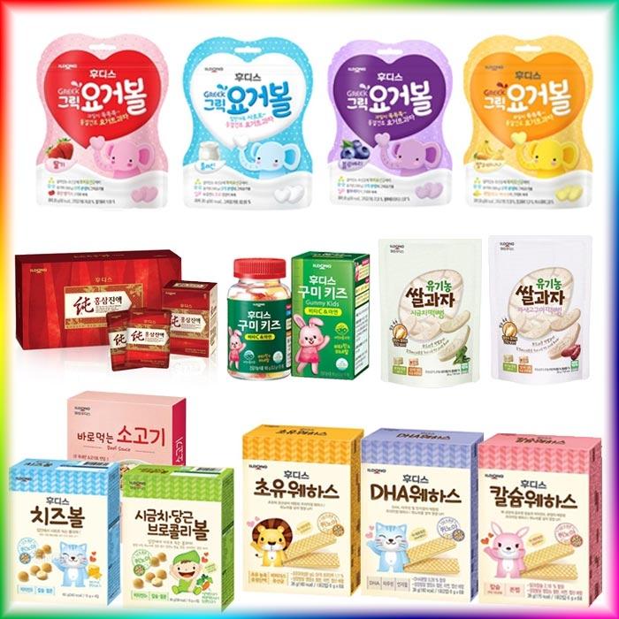 [일동후디스] 인기아기간식/아기과자 마지막찬스/ 유통기한 임박상품 모음전