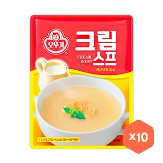 [슈퍼마트] 오뚜기 크림스프 1kg x10개 무배