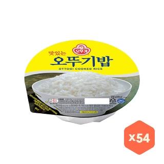 [슈퍼마트] 오뚜기밥 210g 54입 무배