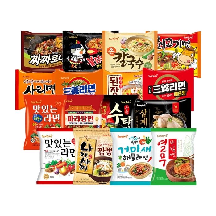 [무료배송] 삼양식품 봉지라면 대용량