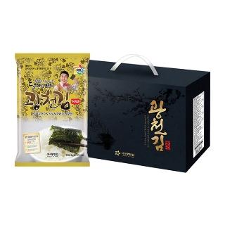 [티몬데이] 오늘의장보기 달인김병만의 광천김 재래전장 10봉 선물세트(5+1)