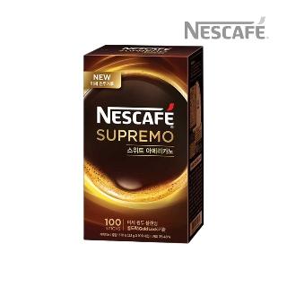 [슈퍼마트] 네스카페 수프리모스위트 아메리카노100T