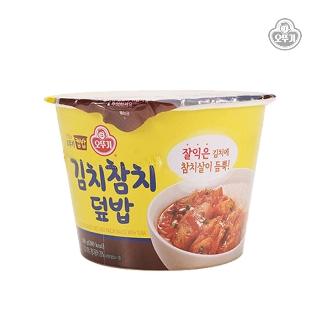 [슈퍼마트]오뚜기 컵밥 김치참치덮밥 280g