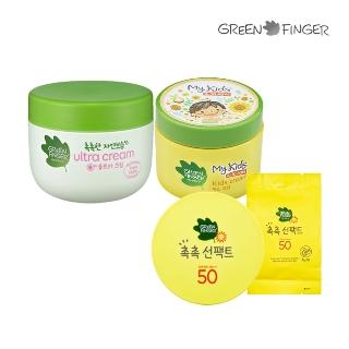 [티몬균일가] 그린핑거 촉촉 선팩트/키즈크림