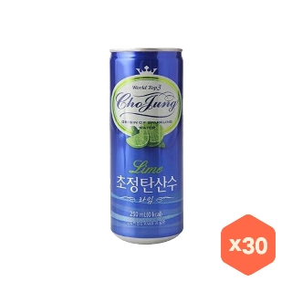[슈퍼마트]일화초정탄산수라임250ml*30