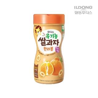 [기한임박] 후디스 유기농 쌀과자 한라봉 40g 유통기한 2019-06-11